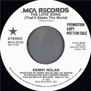 Kenny Nolan - The Love Song (That'll Shake The World)