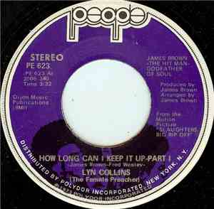 Lyn Collins - How Long Can I Keep It Up