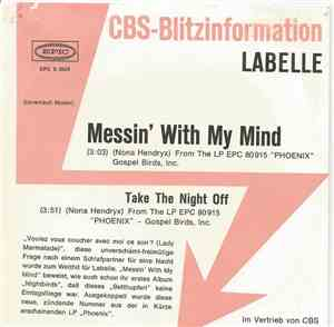 LaBelle - Messin'With My Mind
