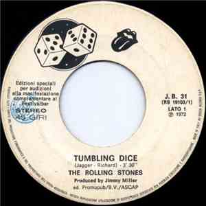 The Rolling Stones / Silver  - Tumbling Dice / Bella Mia